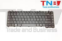 Клавиатура TOSHIBA Satellite C600, C600D, L600, L630, L640, C640, C645 черная RU/US