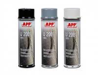 APP Средство для защиты кузова U200 (аэрозоль), черный