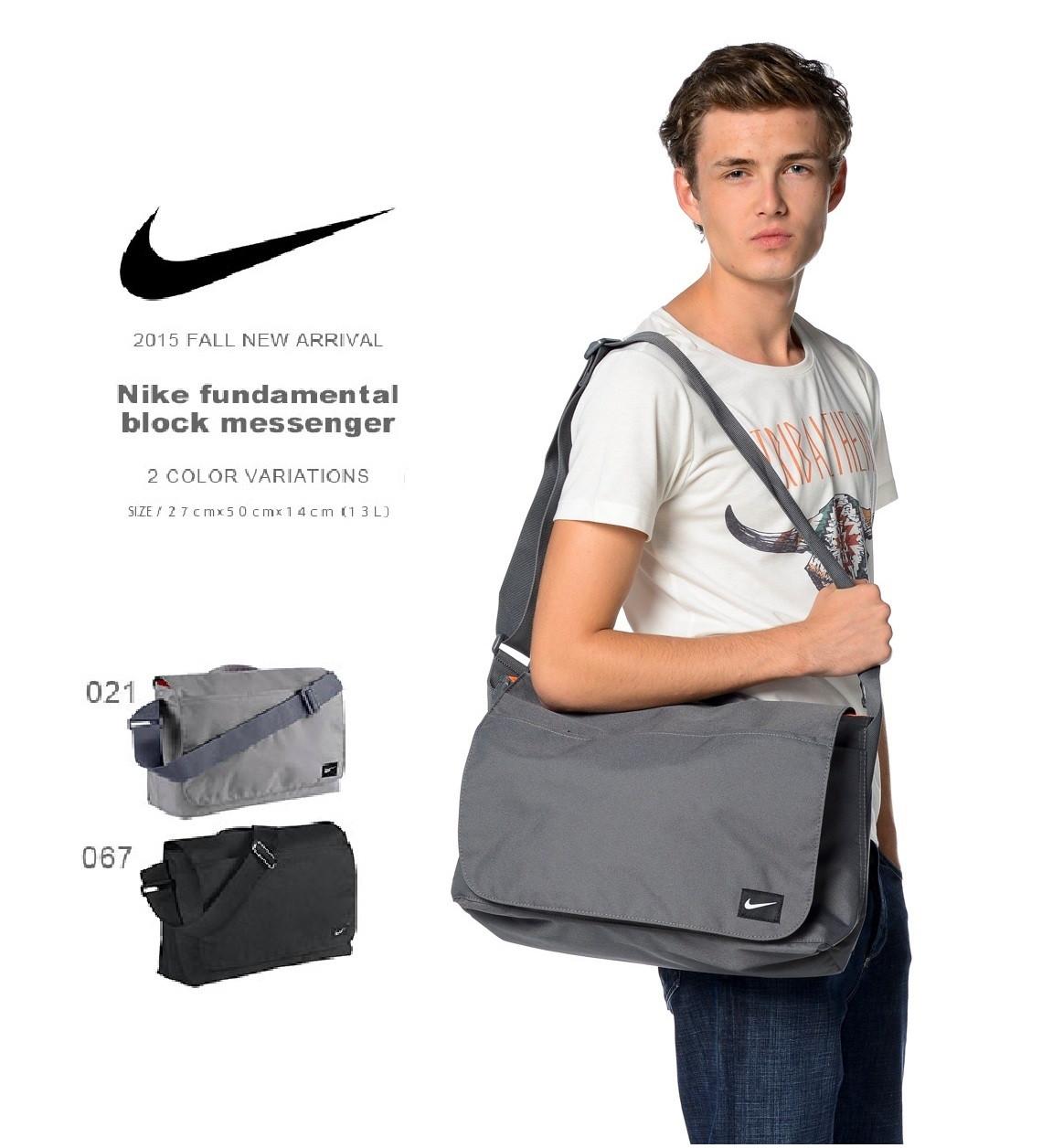 Сумка Nike Fundamentals Blocked Msng