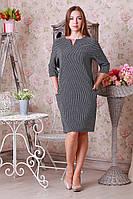 Женское платье ромбик р.50-54 Y253-2