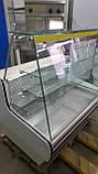 Кондитерська вітрина Cold 1.2 м. б/у, Кондитерська вітрина б/у, холодильна вітрина б, вітрина кондитерська, фото 5