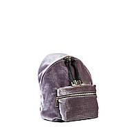 Сумка-рюкзак женская Virginia Conti 8509 сер. велюр, фото 1