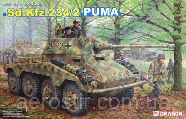 Sd.Kfz.234/2 PUMA 1/35 DRAGON 6256