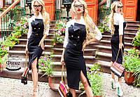 Стильное невероятно эффектное платье облегающего силуэта, декор сложными, оригинальными деталями РАЗНЫЕ ЦВЕТА!