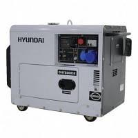 Генератор Hyundai DHY 8000SE-3, мощность 6 кВт
