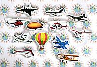 Летающие аппараты. Магнитики развивающие. Набор