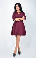 Оригинальное легкое платье модного цвета