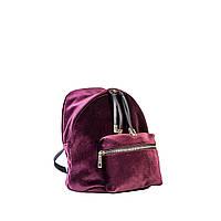 Сумка-рюкзак женская Virginia Conti 8509 борд. велюр