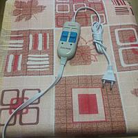 Електропростынь (электроматрас) двуспальная макси 155*170 см полиамид