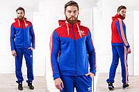 Мужской утепленный спортивный костюм Адидас