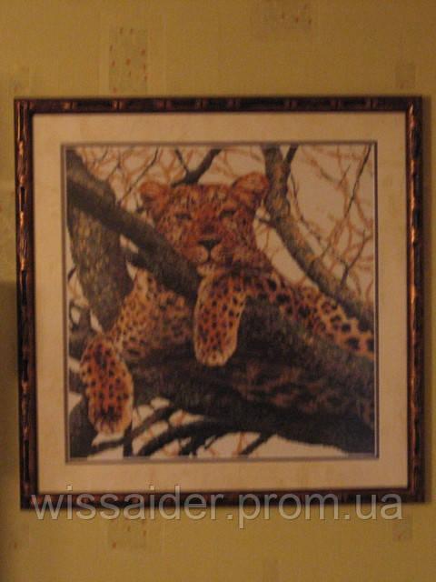 """Картина """"Тигрица"""" (вышита крестиком)"""