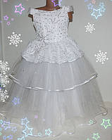 Детское праздничное платье  на девочку (нарядное, новогоднее) 5-9 лет  корсет