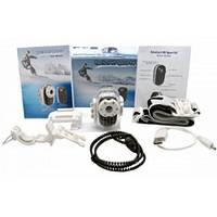 Спортивный видеорегистратор+подводный бокс S 010, Full HD 1920*1080+крепления на руль и шлем