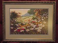 """Картина """"Полевые цветы"""" (вышита крестиком)"""