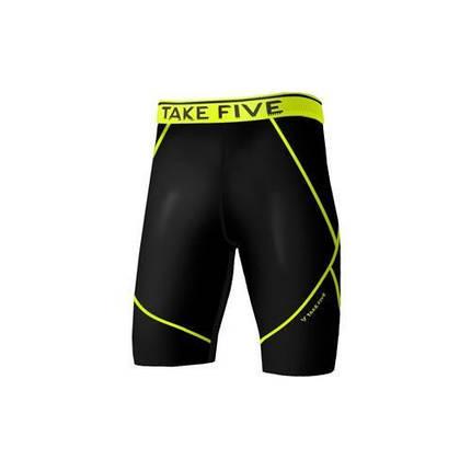 Компрессионные шорты Take Five Черные, фото 2