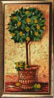 Набор для вышивания бисером Лимонное дерево БФ 289