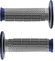 Мото грипсы Renthal MX Dual Compound Grips Dia/Waf Blue, One Size