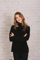 Женский джемпер флисовый черный, фото 1