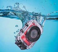 Спортивный видеорегистратор S 020/ F5+подводный бокс, крепления на руль и шлем