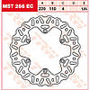 Тормозной диск TRW / Lucas MST266EC