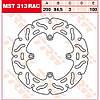 Тормозной диск TRW / Lucas MST313RAC