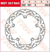 Тормозной диск TRW / Lucas MST357RAC