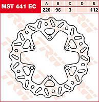 Тормозной диск TRW / Lucas MST441EC