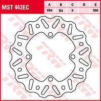 Тормозной диск TRW / Lucas MST442EC