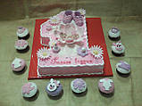 Детский торт на заказ на один годик, фото 3