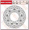 Тормозной диск TRW / Lucas MSW242RAC