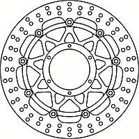 Тормозной диск TRW / Lucas MSW254