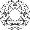 Тормозной диск LUCAS MSW259RAC