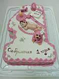 Детский торт на заказ на один годик, фото 4