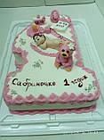 Детский торт на заказ на один годик, фото 5