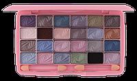Палетка теней для век 24 цвета Lily E591