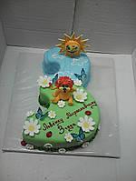 Дитячий торт на замовлення Льовушка