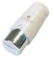 Термостатическая головка DIAMANT PLUS  DZ белая-хром
