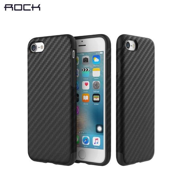 Карбоновый чехол Rock Origin Series для iPhone 7 Plus