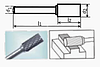 Борфреза цилиндрическая 55х6мм (14х3мм), тип A (тип насечки ― 3)