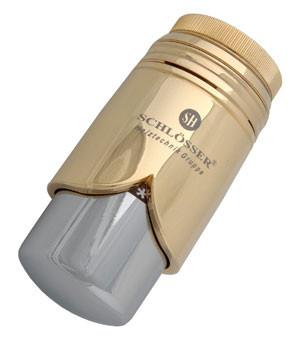 Термостатическая головка  BRILLANT SH золото-хром
