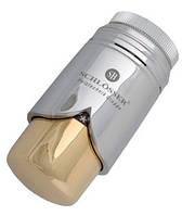 Термостатическая головка  BRILLANT SH  хром-золото