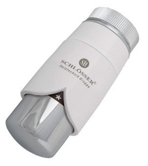 Термостатическая головка  BRILLANT DR белая -хром