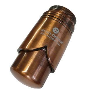 Термостатическая головка  BRILLANT SH античная медь