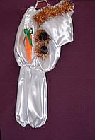 Новогодний костюм для мальчика Снеговик 6-8 лет