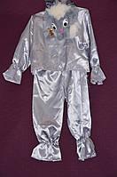 Новогодний костюм для мальчика Зайчик 6-8 лет