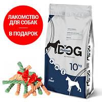 PLATINUM DOG Полнорационный корм премиум класса для Взрослых собак всех пород 10 кг