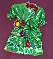 Новогодний костюм для девочки Ёлка 6-8 лет