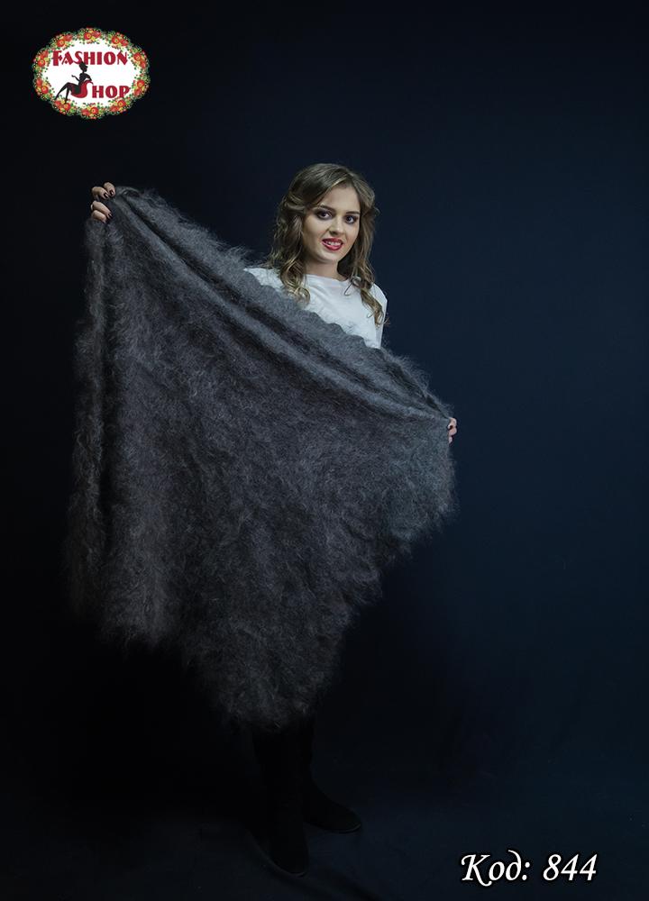 Оренбургская большая пуховая шаль Альмира 125 см