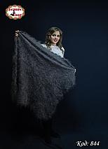 Оренбургская большая пуховая шаль Альмира 125 см, фото 2