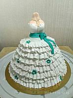 """Торт для донечки """"Плаття для Леді"""""""